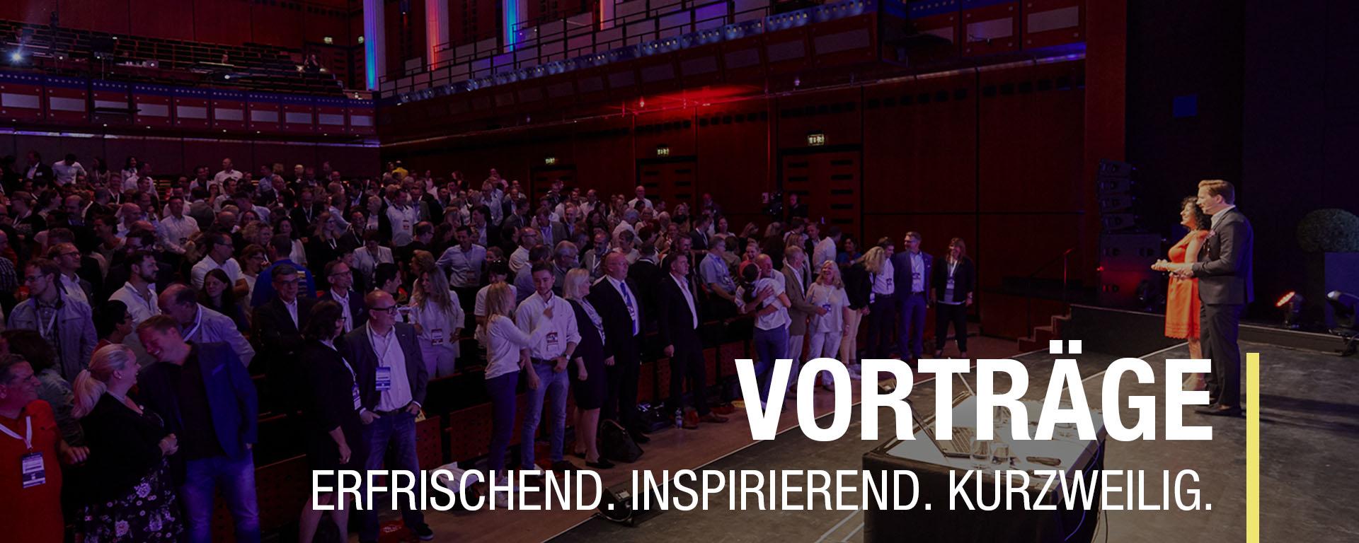Vortrag, Keynote, Keynotespeaker Gamchanger, Changemanagenemt, Transformation