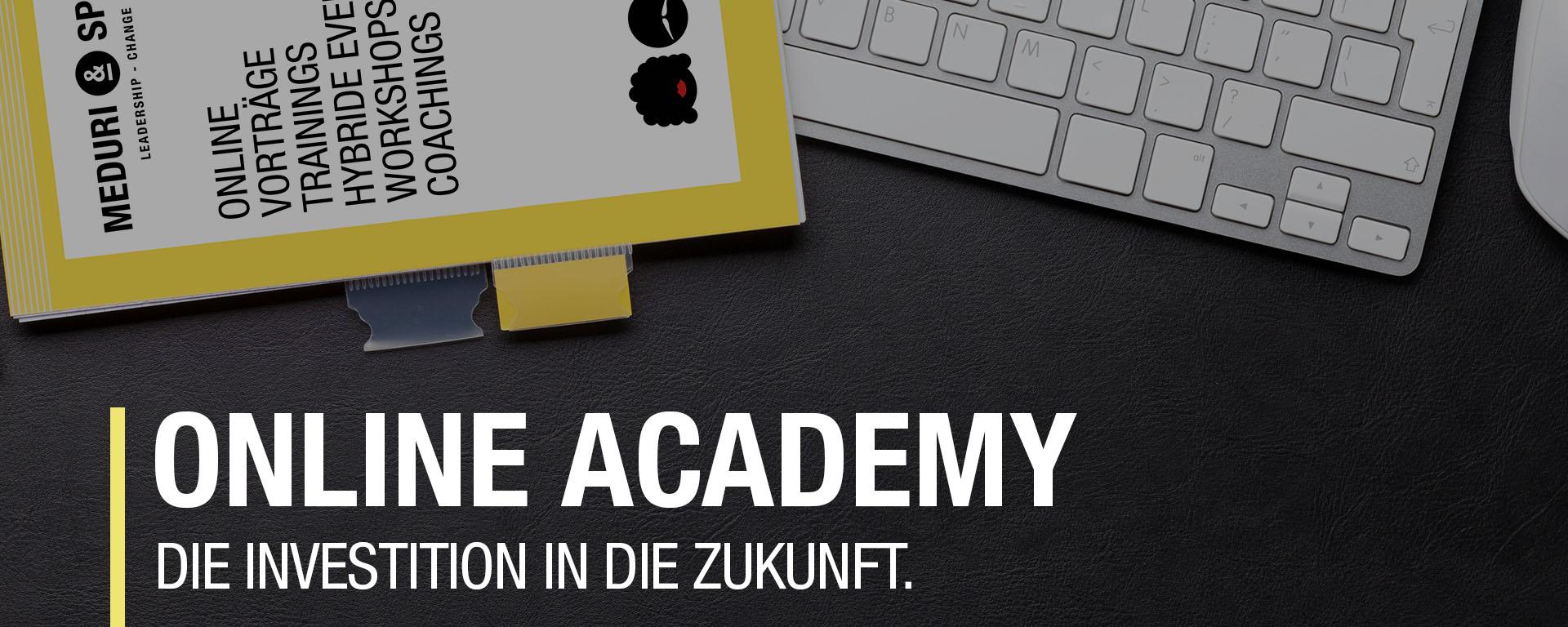 Online Academy, Digital Academy, Coaching Ausbildung online, E learning
