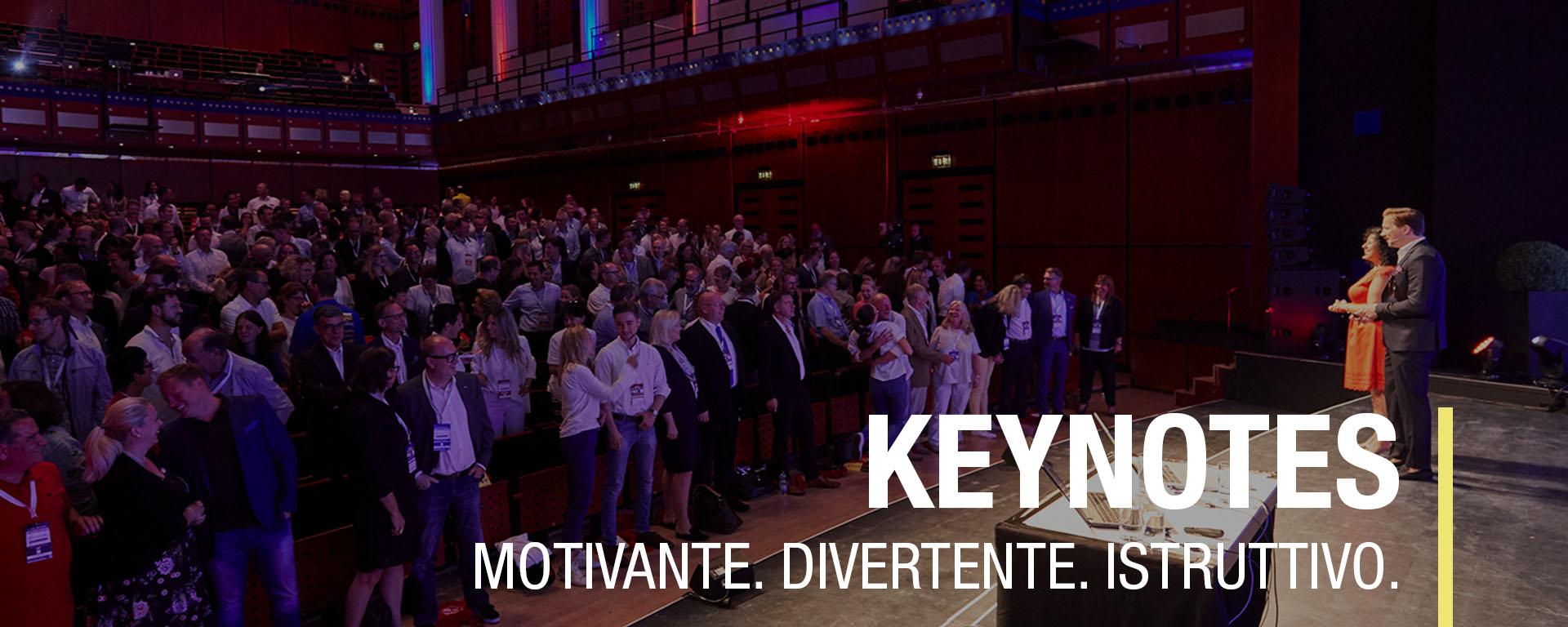 Presentazione, keynote, sviluppo della squadra, team building
