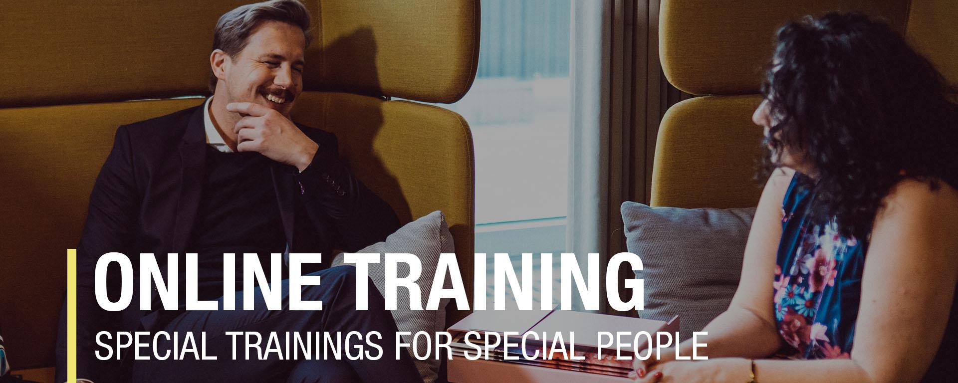 Communication training, presentation training, online presenting, online meetings, digital leadership