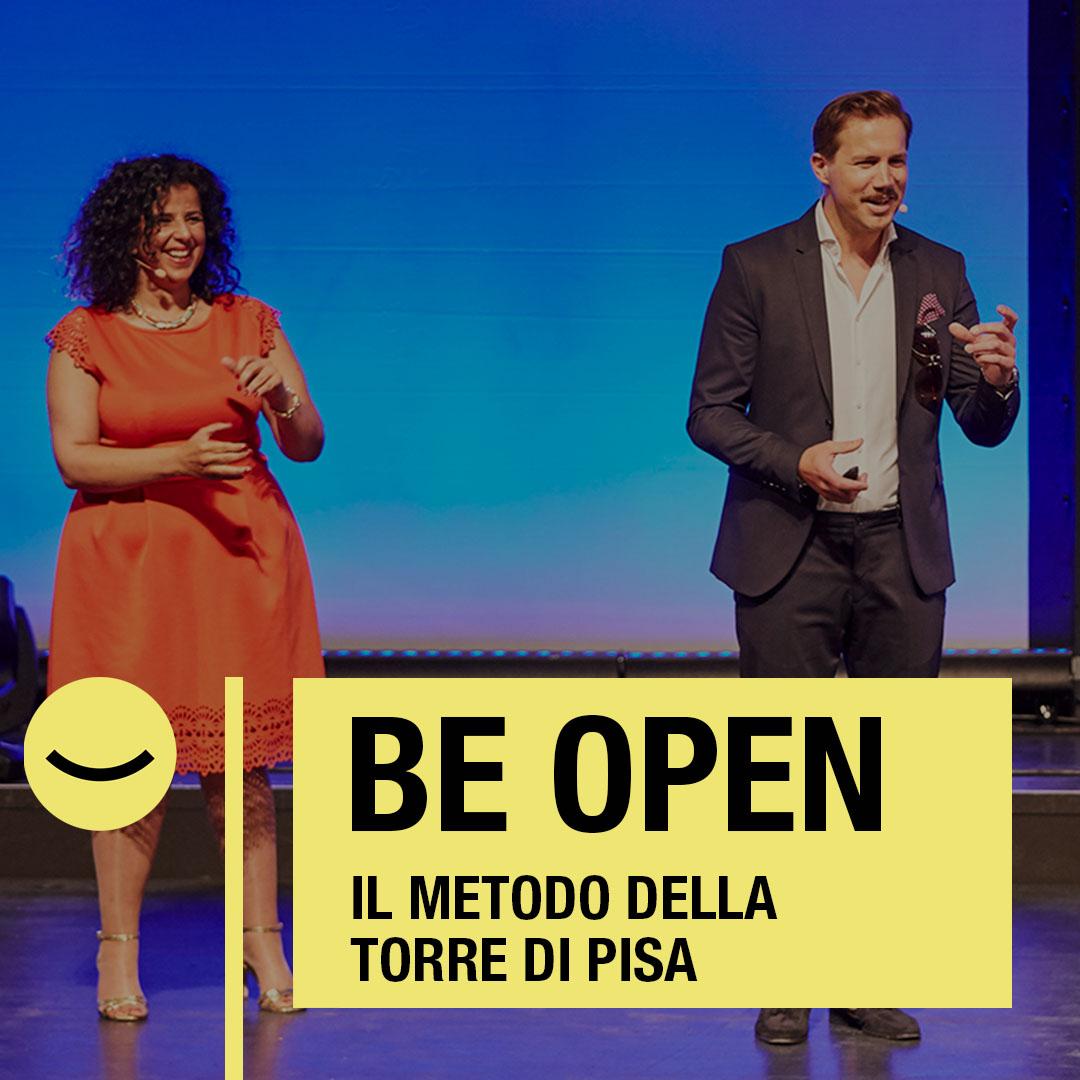 Conferenza, keynote, keynote speaker, entusiasmo del cliente, principio di Pisa