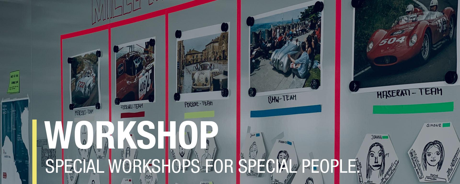 Workshops, Seminars Scrum
